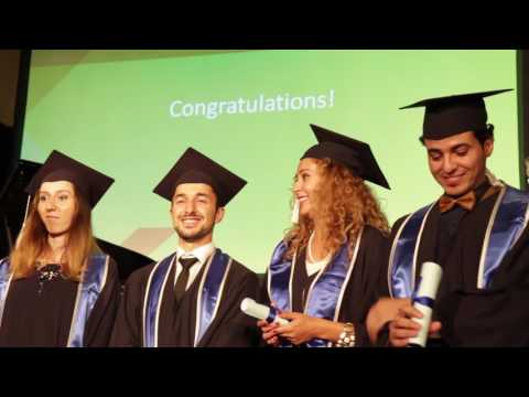 Graduation 2016: International Graduate Center Bremen, Germany