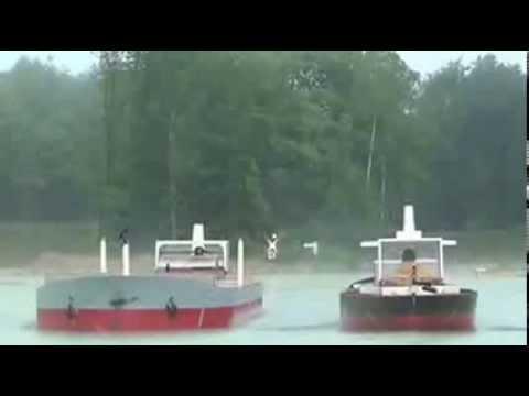 VLCC's meeting on shallow water - Port Revel Shiphandling