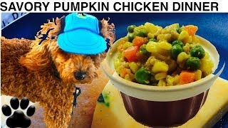 Savory Chicken Dog Dinner- Diy Dog Food - A Tutorial By Cooking For Dogs