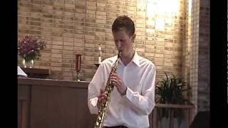 David Lepesha - Soprano Saxophone Solo (Kenny G. style)