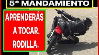 Imagen del video: LORENZO: Aprenderás a tocar rodilla con tu moto