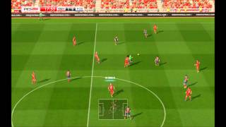 PES 2014 PC bayern munich vs barcelona opinion en la descricion gameplay LEYENDA