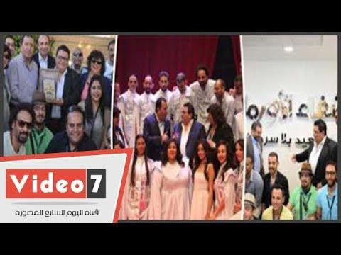 فريق مسرحية -سلم نفسك- بقيادة خالد جلال يتألقون بمدينة المائة باب  - 17:22-2018 / 3 / 19