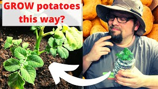 A NEW Method f๐r Growing Potatoes At Home, Will It Work? | Guten Yardening