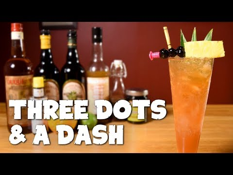 Three Dots And A Dash (••• —) - How To Make The Classic, WWII-Era Tiki Cocktail
