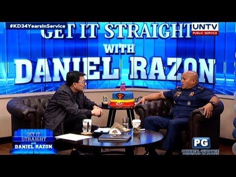 PNP chief Ronald dela Rosa talks about PH's drug problem,  PNP's return to anti-drug ops