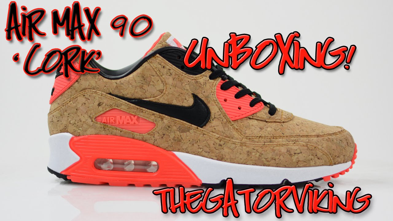 5aa688760e29 Air Max 90  Cork  Anniversary - UnBoxing and Review ! - 2015 - YouTube