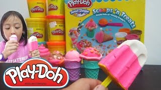 Es Krim Mainan Anak 🍦Play Doh Ice Cream Cupcakes Kid Toy 🍦 by Lifia Niala