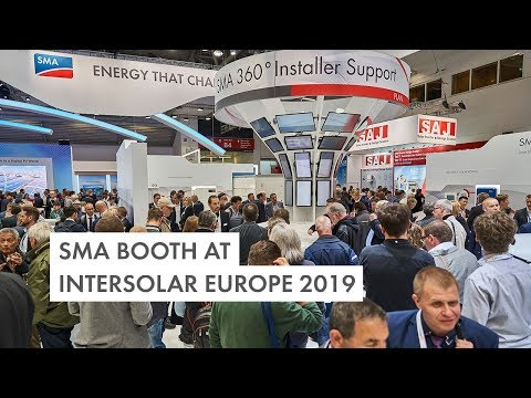 SMA Intersolar Europe 2019 Review