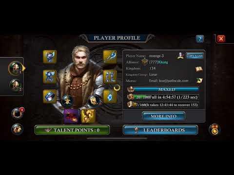 Boring  k134 Killing Golem & Gems Cost  King Of Avalon