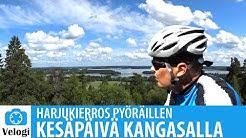 Kangasalan harjut pyöräillen