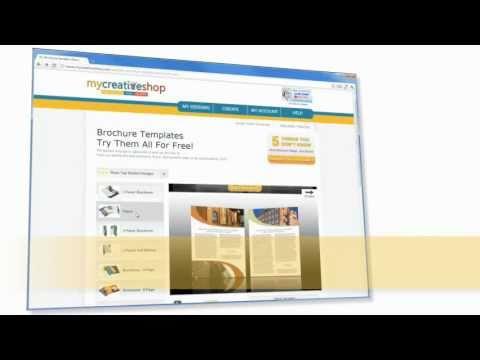 mycreativeshopcom your professional online brochure maker
