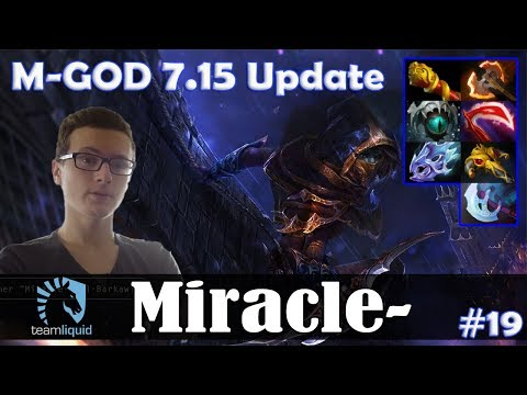 Miracle - Phantom Assassin Safelane | M-GOD 7.15 Update Patch | Dota 2 Pro MMR Gameplay #19 thumbnail