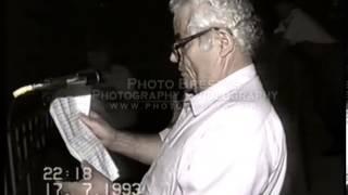 Ομιλία υποψηφίου δημάρχου Τσέ 1993