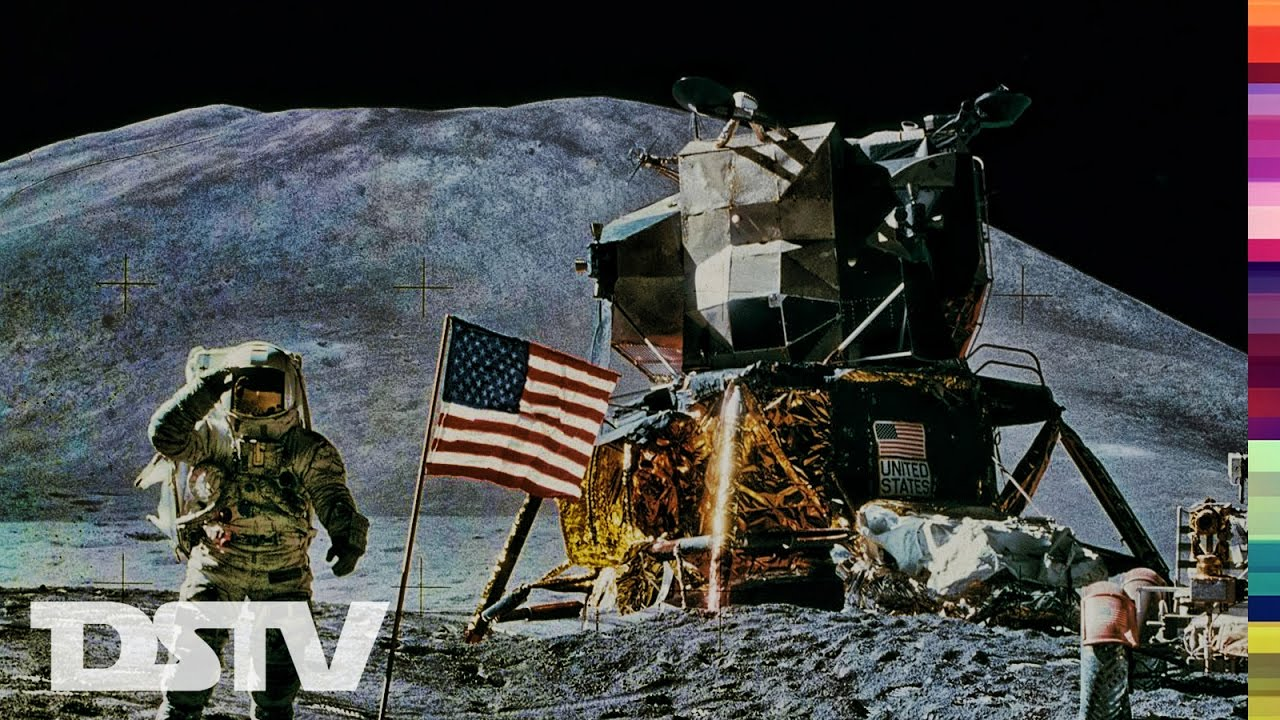 APOLLO 11 AS IT HAPPEND LIVE ON ABC, LM LIFT OFF AND ...