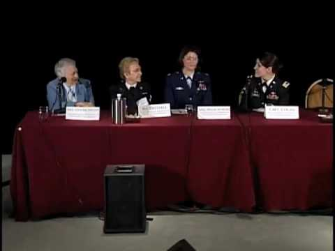 Army Nurse Corps Cpt Kaitlyn Cogan On Nurses Serving In the Military AVC Conference 2008