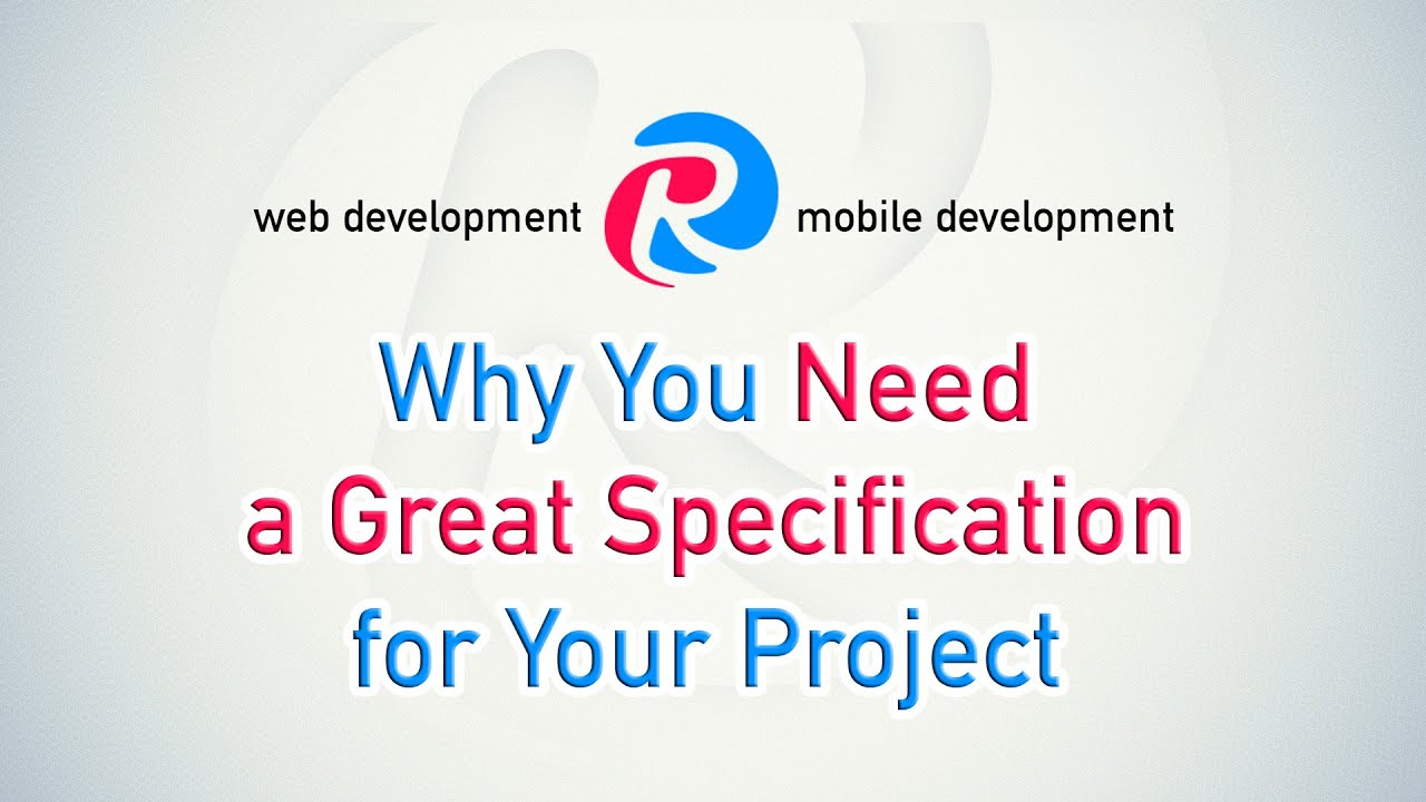 Software Specification Document: Why does your project need one? — All  about Apps by Cleveroad Inc