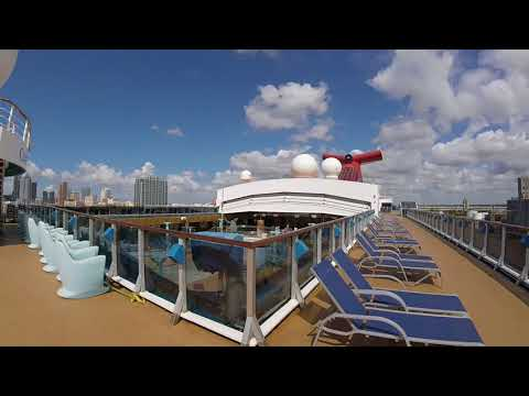 Carnival Miracle Back From Dry Dock, First Sailing, PostCard Travel Planning (386) 383-2471