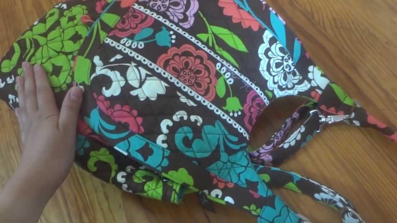Vera Bradley Backpack Tote Review - YouTube 0612760ca1f7b
