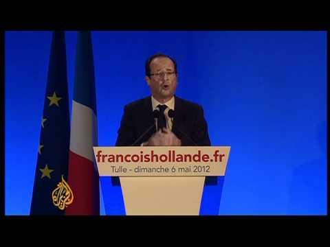 Socialist Hollande wins French presidency