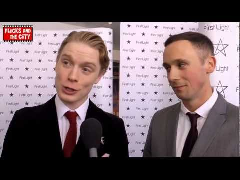 Jason Maza (The Hooligan Factory) & Freddie Fox (Parade's End) Interview - First Light Awards 2013