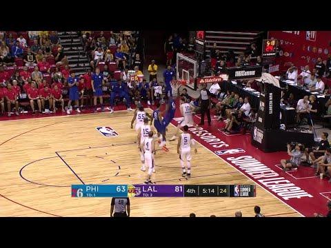 4th Quarter, One Box Video: Los Angeles Lakers vs. Philadelphia 76ers