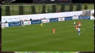 Switzerland 2 England 3 Women's World Cup Second leg play-off 2010