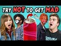 College Kids React To Try Not To Get Mad Challenge
