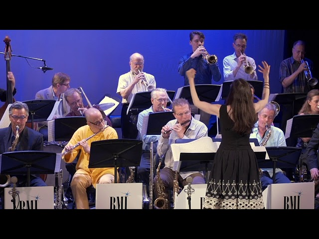 Meg Okura - Afrasia ft BMI New York Jazz Orchestra.