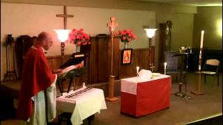 The Feast of Pentecost - May 19, AD 2013 - Saints Mary and Martha Anglican Church