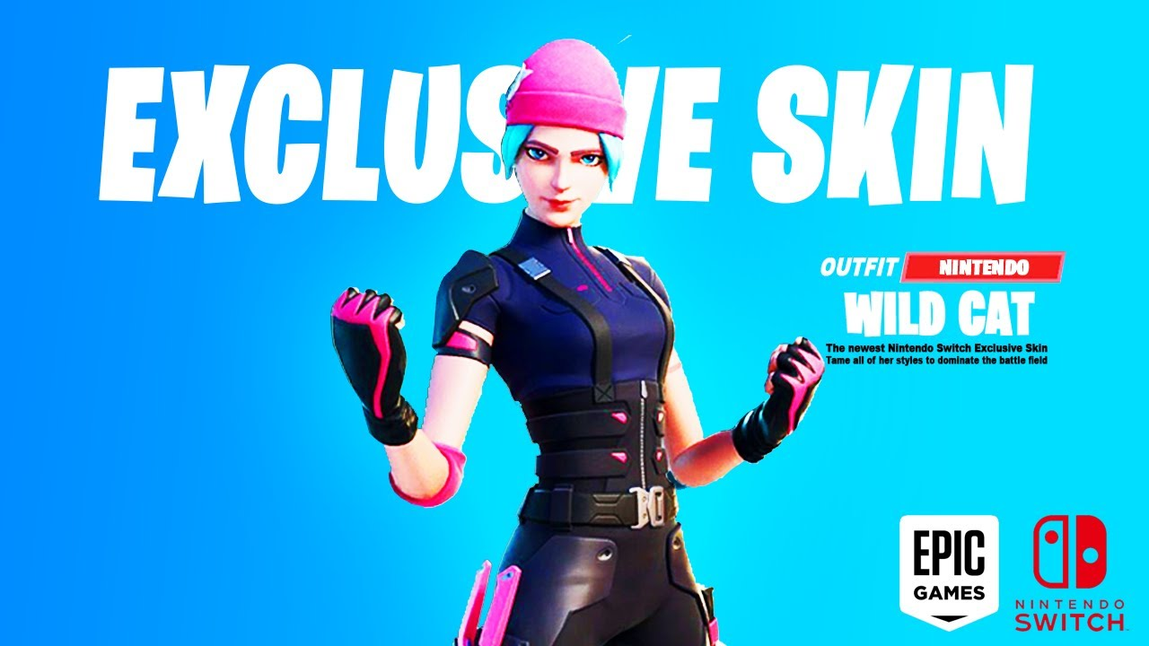 New Nintendo Switch Exclusive Skin In Fortnite Exclusive Nintendo Switch Wildcat Skin In Fortnite Youtube Wildcat discovers rifts are still in fortnite. new nintendo switch exclusive skin in fortnite exclusive nintendo switch wildcat skin in fortnite