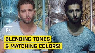 How to Blend Tones & Color Match for Composite Images in Photoshop