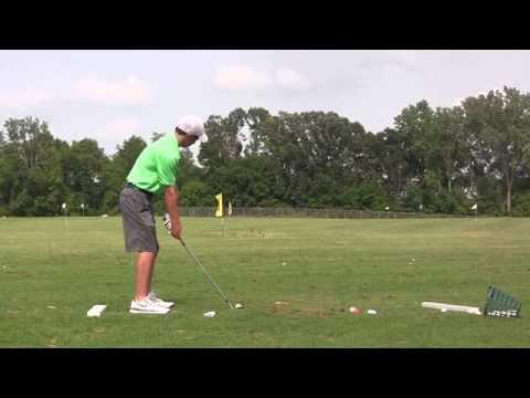 Patrick Fisher Golf Swing Demo