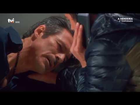 Roni dá um tiro a Joaquim para salvar Vicente - A Herdeira