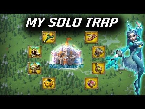 My SOLO Trap Progress - Lords Mobile