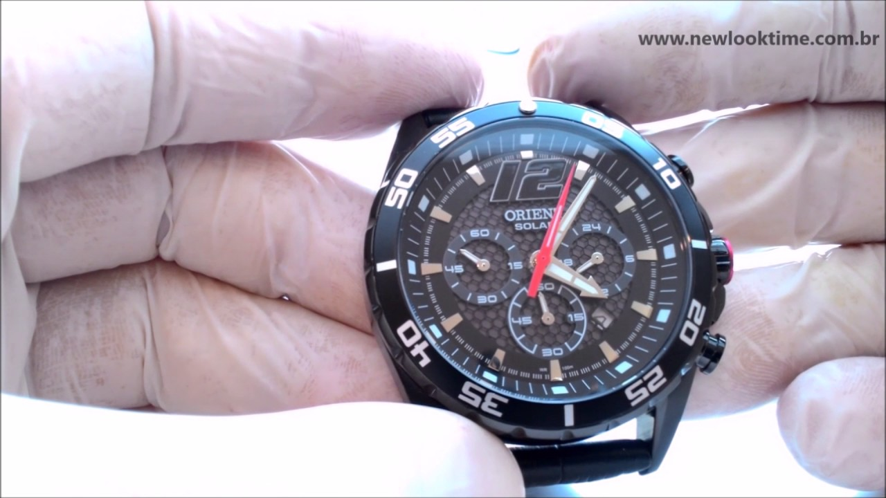 cf9e83dbab5 RELÓGIO SOLAR ORIENT CRONÓGRAFO MPSCC004 P2PV - New Look Time Relógios