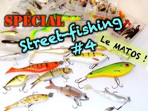 Matériel de pêche, canne, leurres, drop shot... Spécial street-fishing #4