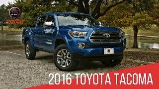 2016 Toyota Tacoma Test Drive