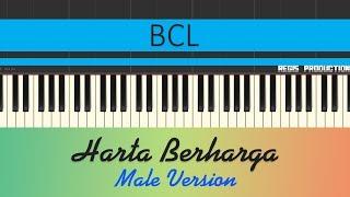 BCL - Harta Berharga MALE (Karaoke Acoustic) by regis