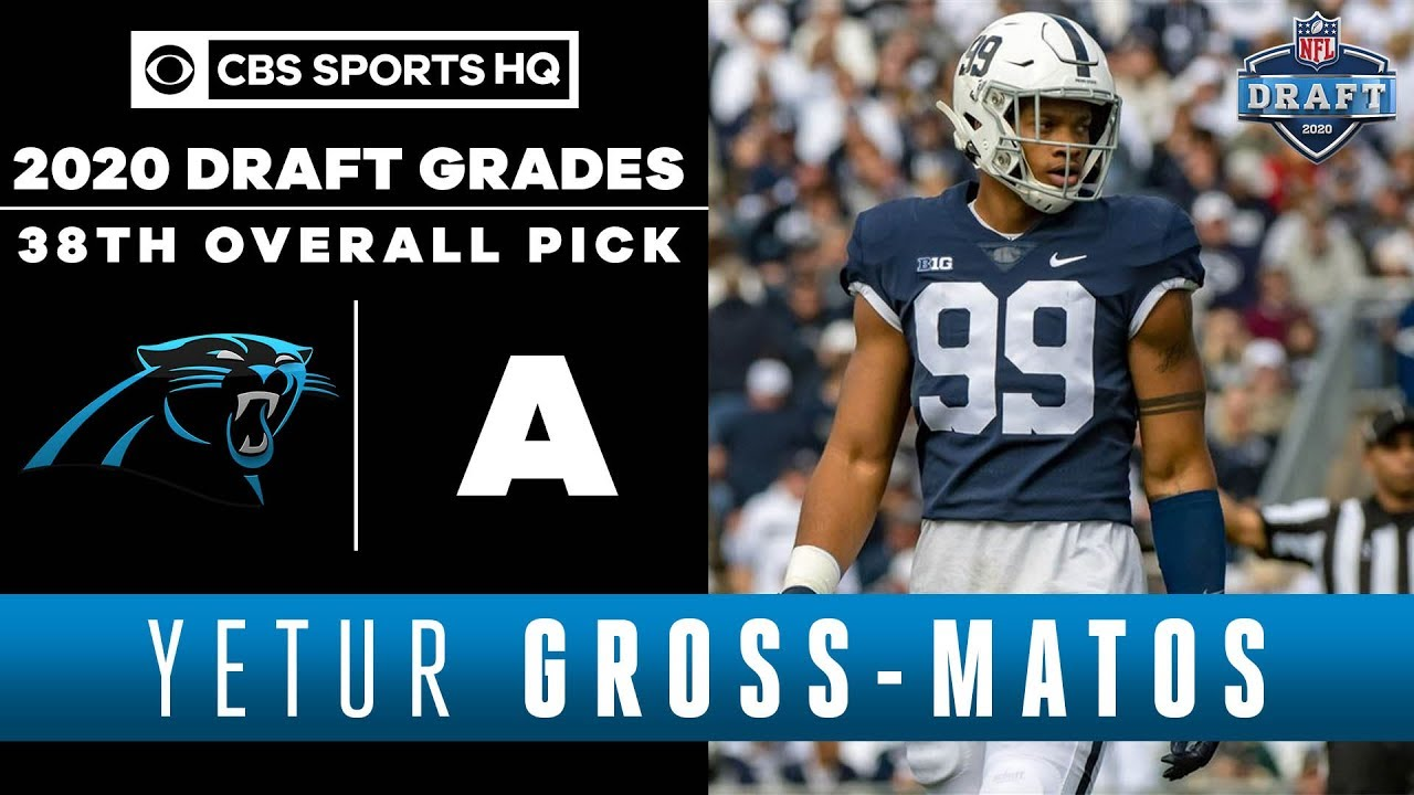 Yetur Gross-Matos Drafted No. 38 Overall By Carolina Panthers