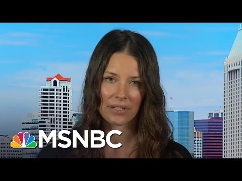 Evangeline Lilly Takes A Stand Against Congress  MSNBC