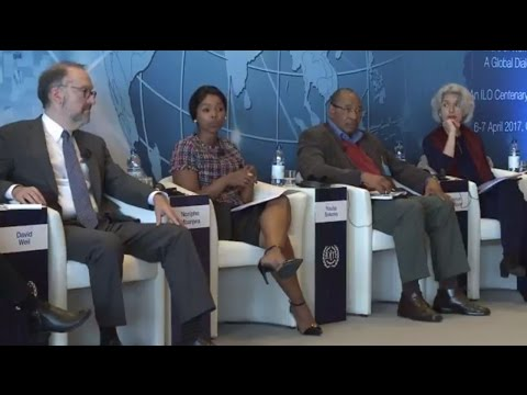 A Global Dialogue on future of work: Organization of work and production