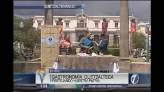 Celebración de fiestas patrias en Xelajú, Quetzaltenango