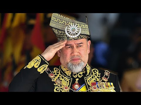 Malaysia's King Muhammad V steps down from throne