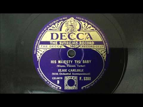 "Elsie Carlisle - ""His Majesty the Baby"" (1935)"