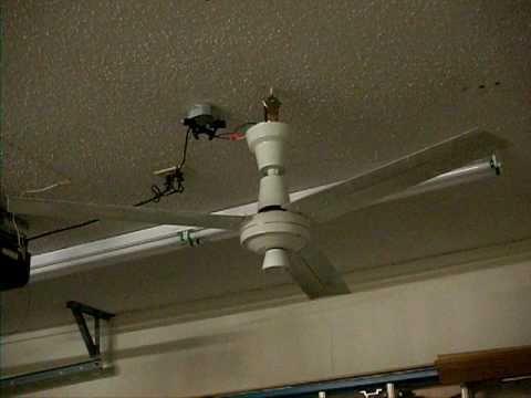 Dayton Industrial 56 Quot Ceiling Fan Youtube
