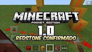 Noticias Minecraft PE 1.0 Beta | Redstone confirmado! | Tommaso y Johan
