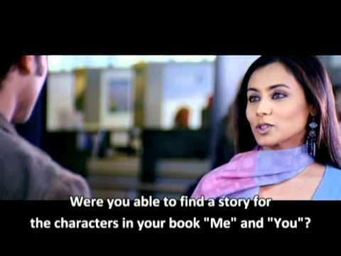 Hum Tum (Me&You) -- airport scene (eng subtitles)
