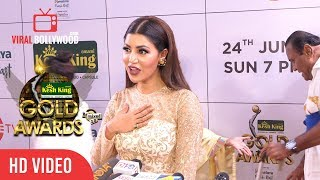 Debina Bonnerjee At GOLD Awards 2018 | Viralbollywood