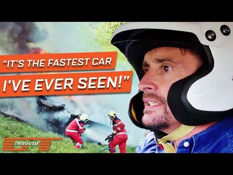 Richard Hammond Crashes A $1 Million Rimac Concept One | The Grand Tour